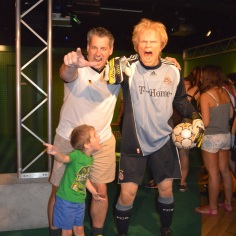 Oliver Kahn! Madame Tussauds - Berlin, Germany 2014
