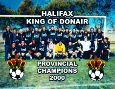 Halifax King of Donair - Provincial Champions 2000