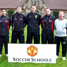 Manchester United Soccer Schools, Manchester, UK - 2004