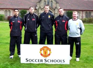 Manchester United Soccer Schools, Manchester, UK - 2004