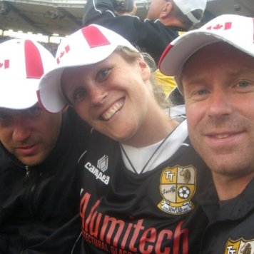Family and friends - Gothia Cup - Sweden 2008