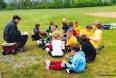 Gothia Cup team training.